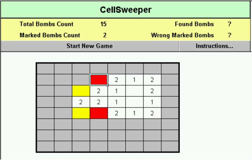 CellSweeper game
